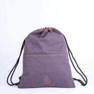 CANVAS,MOCHILA SAC MARRON
