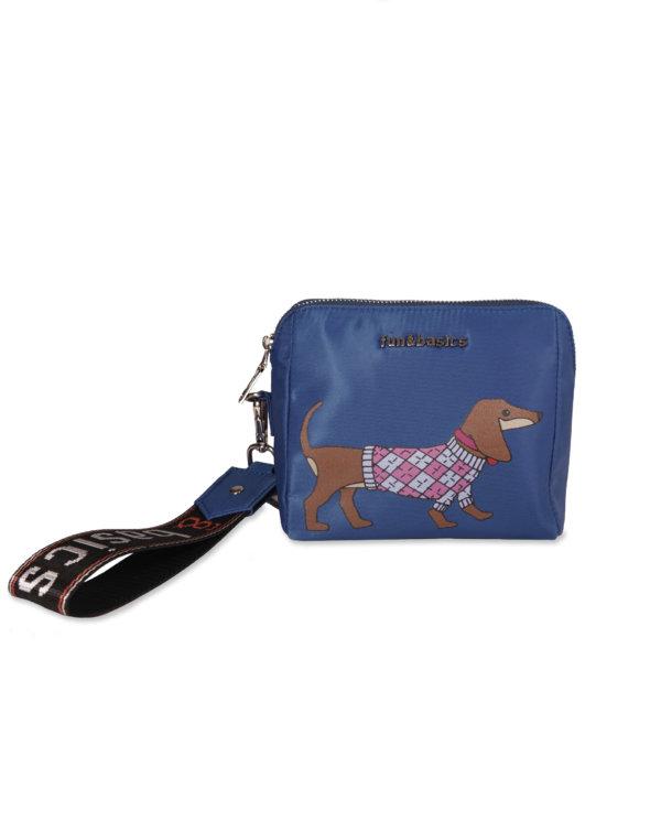 Neceser perro azul