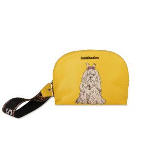 Neceser perro amarillo