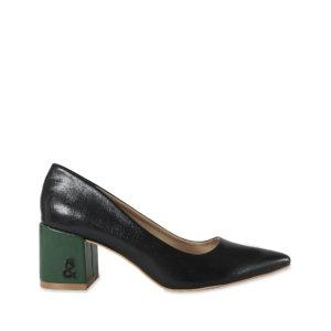 Zapato salón negro