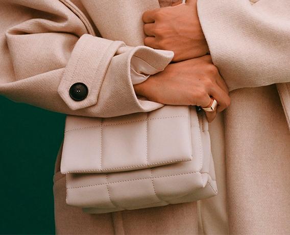 bolsos acolchados