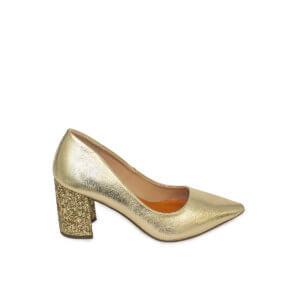 Zapato Salón Fun & Basics oro