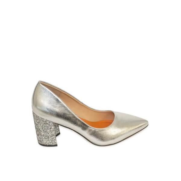 Zapato Salón Fun & Basics plata