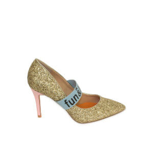 Zapato Salón Fun & Basics dorado