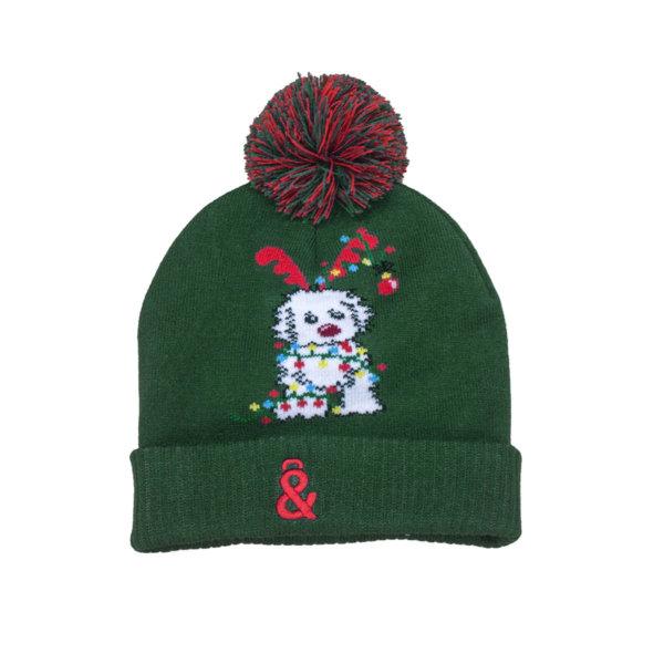 Gorro Navidad verde