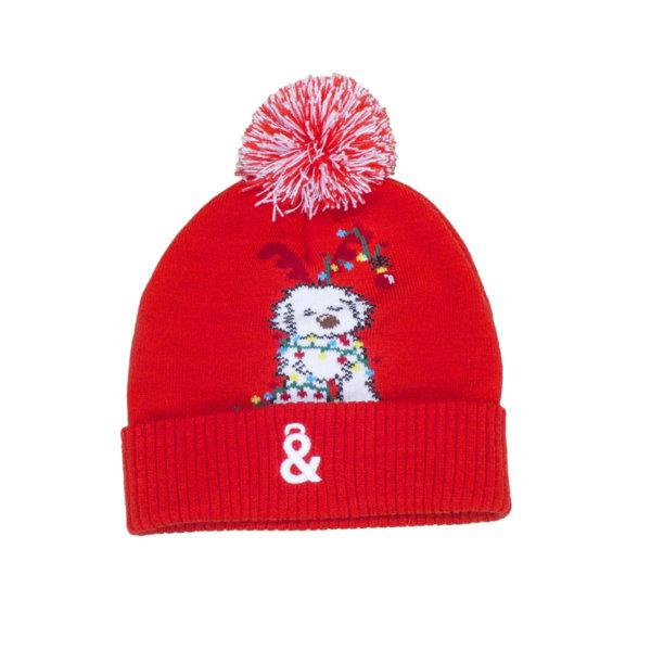Gorro Navidad rojo
