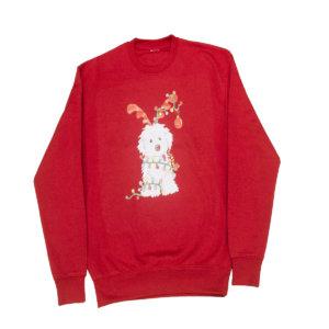 Sudadera Navidad roja