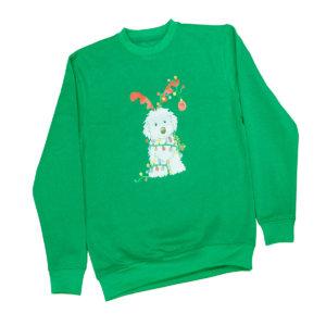 Sudadera Navidad Niño verde