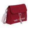 Bolso bandolera Fun & Basics nylon rojo